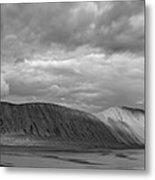 Iceland Mountains Panorama Metal Print