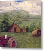 Idle In Godfrey Georgia Metal Print