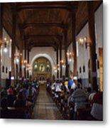 Iglesia Nuestra Senora De La Asuncion Ahuachapan Metal Print