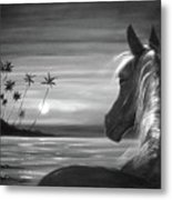 I'll Be There Metal Print