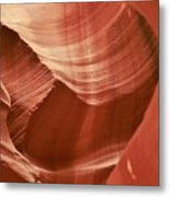 Impressions Of Antelope Canyon 1 Metal Print