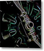In Color Abstract 11 Metal Print