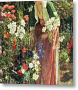 In The Bey's Garden Metal Print