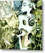 In The Jungle Metal Print by Mindy Newman