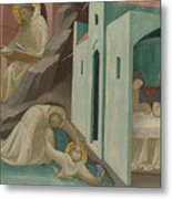 Incidents In The Life Of Saint Benedict Metal Print