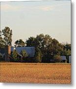 Indiana Farmland  Metal Print