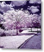 Infrared Garden Metal Print
