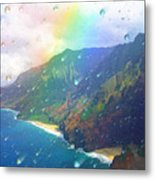 Inside A Rainbow Metal Print