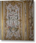 Inside Chantilly Castle France Metal Print