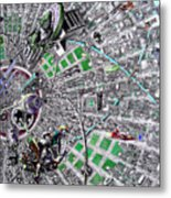 Inside Orbital City Metal Print