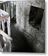 Inside The Castle Frankenstein Metal Print