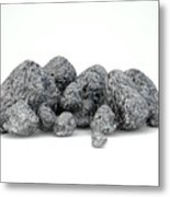 Iron Ore Nugget Collection Metal Print