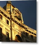 Italian Architecture At Sunset Metal Print