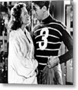 Its A Wonderful Life, Donna Reed, James Metal Print by Everett