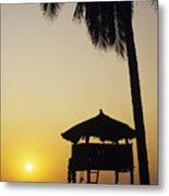 Ixtapa Sunset Metal Print