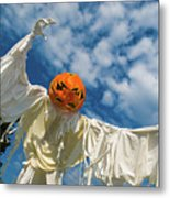 Jack-o-lantern Man Metal Print