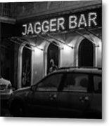 Jagger Bar In Ufa Russia Metal Print