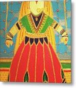 Jaipur's Kathputli Metal Print