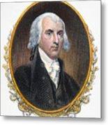 James Madison (1751-1836) Metal Print