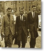 James Meridith And Ole Miss Integration 1962 Metal Print