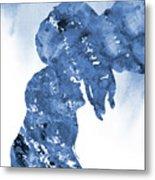 Jane And Tarzan-blue Metal Print