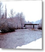 January Winter Day In England  Metal Print