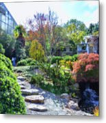 Japanese Garden 3 Metal Print