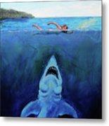 Jaws  Revisited Metal Print