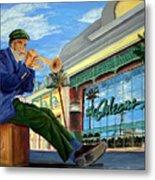 Jazz At The Orleans Metal Print