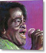 Jazz. James Brown. Metal Print