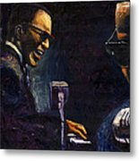 Jazz Ray Charles Metal Print