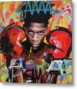 Jean Michel Basquiat Metal Print