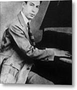 Jelly Roll Morton. For Licensing Requests Visit Granger.com Metal Print