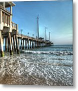 Jennettes Pier Nags Head North Carolina Metal Print