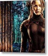 Jennifer Lawrence Collection Metal Print