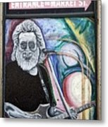 Jerry Garcia - San Francisco Metal Print
