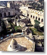 Jerusalem From The Tower Of David Museum Metal Print