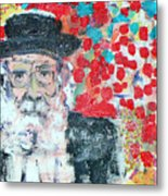 Jerusalem Man Metal Print