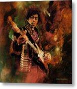 Jimi Hendrix 01 Metal Print