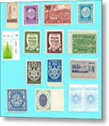 Jnf Stamps  Metal Print