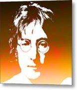 John Lennon The Legend Metal Print