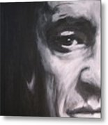 Johnny Cash 2 Metal Print
