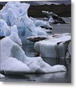 Jokulsarlon Glacier Lagoon Iceland 2431 Metal Print