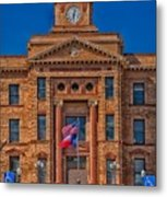 Jones County Courthouse Metal Print