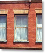 Jonesborough Tennessee Three Windows Metal Print