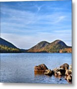 Jordan Pond No. 2 - Acadia - Maine Metal Print