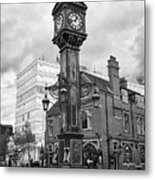 joseph chamberlain memorial clock in warstone lane jewellery quarter Birmingham UK Metal Print