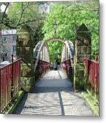 Jubilee Bridge - Matlock Bath Metal Print