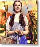 Judy Garland As Dorothy In The Wizard Of Oz Eric Carpenter Photo 1938-2014 Metal Print
