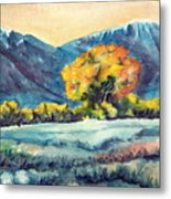 Judys Tree Metal Print